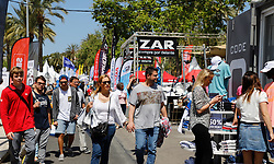 April 27, 2018 - Palma, Balearic Islands, Spain - 35th Palma International Boat Show starts on April 27 until May 1. With an exhibition site of 81.388 square meters, 260 direct exhibitors and 300 crafts in the sea is one of the leading nautical shows in Europe. (Credit Image: © Clara Margais via ZUMA Wire)
