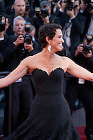 Actress Linda Hardy at the gala screening for the film The Little Prince – Le Petit Prince at the 68th Cannes Film Festival, Friday 22nd May 2015, Cannes, France.