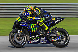 February 6, 2019 - Sepang, SGR, U.S. - SEPANG, SGR - FEBRUARY 06: Valentino Rossi of Monster Energy Yamaha MotoGP  in action during the first day of the MotoGP official testing session held at Sepang International Circuit in Sepang, Malaysia. (Photo by Hazrin Yeob Men Shah/Icon Sportswire) (Credit Image: © Hazrin Yeob Men Shah/Icon SMI via ZUMA Press)