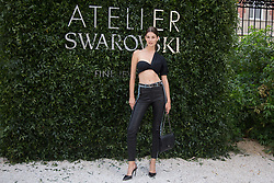 Ophelie Guillermand attends the Atelier Swarovski - Cocktail Of The New Penelope Cruz Fine Jewelry Collection during Paris Haute Couture Fall Winter 2018/2019 in Paris, France on July 02, 2018. Photo by Nasser Berzane/ABACAPRESS.COM