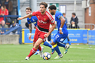 Watford Defender Daryl Janmaat (22) during the Pre-Season Friendly match between AFC Wimbledon and Watford at the Cherry Red Records Stadium, Kingston, England on 15 July 2017. Photo by Jon Bromley.