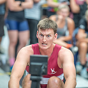 Joe Wright  Mens relay Race #26  03:30pm<br /> <br /> www.rowingcelebration.com Competing on Concept 2 ergometers at the 2018 NZ Indoor Rowing Championships. Avanti Drome, Cambridge,  Saturday 24 November 2018 © Copyright photo Steve McArthur / @RowingCelebration