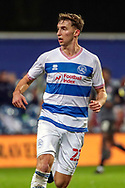 Queens Park Rangers (QPR) defender Conor Masterson (23) running during the EFL Sky Bet Championship match between Queens Park Rangers and Rotherham United at the Kiyan Prince Foundation Stadium, London, England on 24 November 2020.