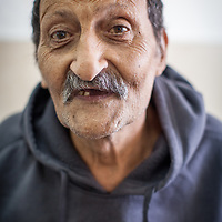Khalil Sa'adeh from Jerusalem in the Geriatric Department of the Augusta Victoria Hospital in Jerusalem. The Augusta Victoria Hospital is located on the southern side of Mount of Olives in East Jerusalem and is run by the Lutheran World Federation, LWF.