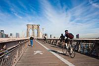 brooklyn bridge - New York City in October 2008
