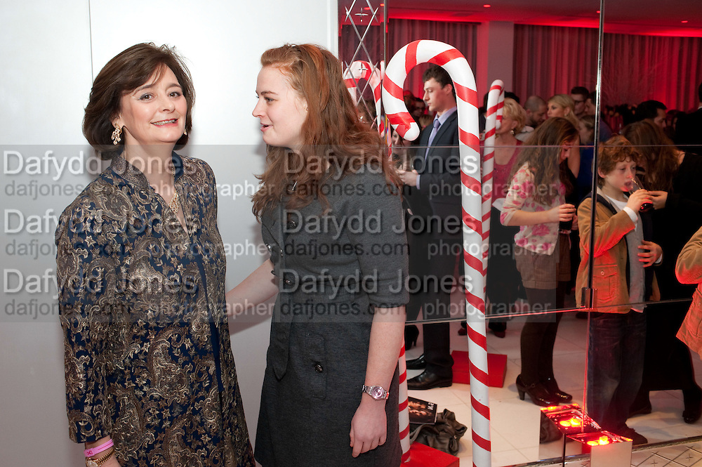 CHERIE BLAIR; KATHRYN BLAIR, English National BalletÕs annual pre-show party at the St. Martin's Lane hotel before a performance of the Nutcracker at the Coliseum. 15 December 2010. <br />  -DO NOT ARCHIVE-© Copyright Photograph by Dafydd Jones. 248 Clapham Rd. London SW9 0PZ. Tel 0207 820 0771. www.dafjones.com.<br /> CHERIE BLAIR; KATHRYN BLAIR, English National Ballet's annual pre-show party at the St. Martin's Lane hotel before a performance of the Nutcracker at the Coliseum. 15 December 2010. <br />  -DO NOT ARCHIVE-© Copyright Photograph by Dafydd Jones. 248 Clapham Rd. London SW9 0PZ. Tel 0207 820 0771. www.dafjones.com.