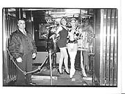 Outside Madame Jo Jo's. Brewer St. London. 13 September 1996. © Copyright Photograph by Dafydd Jones 66 Stockwell Park Rd. London SW9 0DA Tel 020 7733 0108 www.dafjones.com