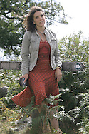 Writer and broadcaster Bettany Hughes pictured in north Wales. Ms Hughes is the author of an acclaimed biography of Helen of Troy which was subsequently made into a television documentary which Ms Hughes presented.