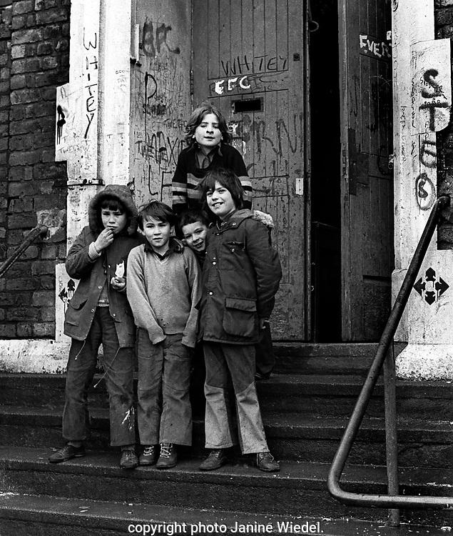 Scotland Road free school in Liverpool 1973