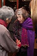 JAYA THADANI;; COUNTESS MOUNTBATTEN OF BURMA, Book launch for ' Daughter of Empire - Life as a Mountbatten' by Lady Pamela Hicks. Ralph Lauren, 1 New Bond St. London. 12 November 2012.
