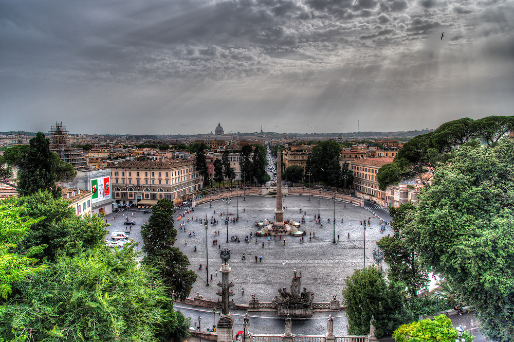 View of Piazza Popolo