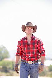 The Working Cowboy walking
