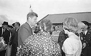 27/06/1963 - President John F. Kennedy visits his ancestral home at Dunganstown, County Wexford.