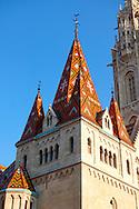 Church of Our Lady or Matthias Church ( Mátyás templom), Castle District, Budapest Hungary