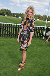 ANNABELLE WALLIS at the Audi International Polo Day held at Guards Polo Club, Smith's Lawn, Windsor on 22nd July 2012.
