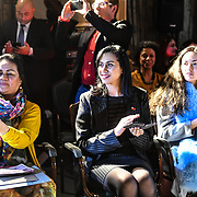 Her Excellency HE Hon. Titilupe Fanetupouvava'u Tu'ivakano of Tonga High Commissioner UK attend London Pacific Fashion Week 2019, London, UK 25 Feb 2019.