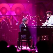 NLD/Hilversum/20120205 - Concert tbv Stichting DON, optreden Michiel Borstlap, Rene Froger en Jeroen van der Boom