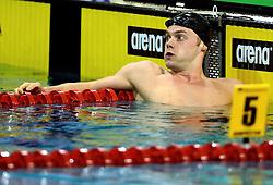 10-04-2014 NED: NK Swim Cup, Eindhoven<br /> Sebastiaan Verschuren, 100m vrij