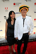 Ben Huh and Guest at the 11th Annual Webby Awards  held at Cipriani's Downtown on June 10, 2008