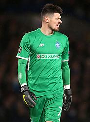 Dynamo Kiev goalkeeper Denys Boyko