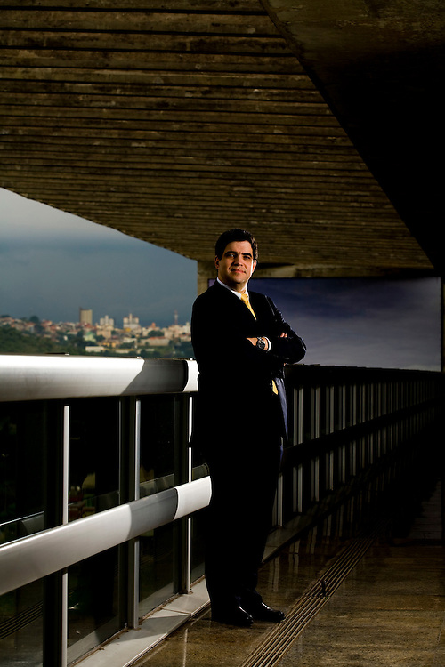 Belo Horizonte_MG, Brasil...Retrato de Marco Antonio Castelo Branco, presidente da Usiminas...Marco Antonio Castelo Branco portrait, Usiminas president...Foto: LEO DRUMOND /  NITRO