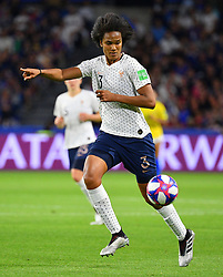 France's Wendie Renard during FIFA Women's World Cup France group A match France v Brazil on June 23, 2019 in Le Havre, France. France won 2-1 after extra time reaching quarter-finals. Photo by Christian Liewig/ABACAPRESS.COM