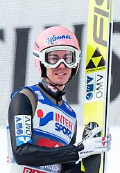 03.01.2016, Bergisel Schanze, Innsbruck, AUT, FIS Weltcup Ski Sprung, Vierschanzentournee, Bewerb, im Bild Stefan Kraft (AUT) // Stefan Kraft of Austria during his Competition Jump of Four Hills Tournament of FIS Ski Jumping World Cup at the Bergisel Schanze, Innsbruck, Austria on 2016/01/03. EXPA Pictures © 2016, PhotoCredit: EXPA/ JFK