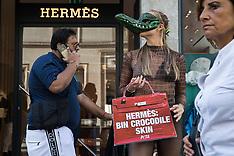 2021-09-08 PETA ask Hermès to stop using exotic skins