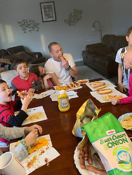 """EXCLUSIVE: A SUPERMUM with 16 children has revealed: """"Our Covid-19 quarantine has been tough."""" Doris Phillips, 38, and her disabled veteran husband William, 42, have been hailed as modern-day miracle workers after raising their giant brood on a shoestring budget. But with coronavirus ravaging communities, the family have been holed up together around-the-clock and unable to leave their four bedroom home which doesn't even have a yard or garden. The only time tireless Doris has left their home in Indianapolis, Indiana is to embark on $1,000 a time trips to Costco where she stocks up on essentials for their children Jason, 19, Nicole, 18, Sophia, 6, Zander, 13, Sage, 12, Lance, 11, Kristella, 10, Giscella,9, Liezella, 6, Adeiric, 7, William, 7, Asreella, 5, Adderin, 4, Aleric, 3, Viella, 1, and Abella, seven months. """"The virus has forced my family to change our routine which has at times been completely crazy,' said Doris. """"When lockdown first happened it was chaos because the schools suddenly closed and we were trying to do home schooling. The kids are up at 7am and when they had no school to go to they were running around like wild little deers. """"The only break I have is when I am wheeling two shopping carts around the supermarket and getting food for the family – and even then people are giving me funny looks because they think I am hoarding. If only they knew how many children I have."""" Before quarantine Doris and William were previously spending at least 15 hours a day caring for their litter and exact military precision to master family meals, schoolwork, endless hospital visits, bath times and family outings. But that routine ended in mid-March when states forced families to isolate. """"They are up at 7am and if you don't get into the bathroom earlier and brush your teeth you'll never get in there. Our day starts early and ends usually at midnight. """"We've been trying to keep them busy with home schooling and various projects including m"""