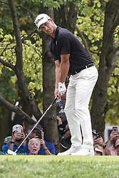August 12, 2018 - Town And Country, Missouri, U.S - ADAM SCOTT from Australia gets ready to tee off on hole two during round four of the 100th PGA Championship on Sunday, August 12, 2018, held at Bellerive Country Club in Town and Country, MO (Photo credit Richard Ulreich / ZUMA Press) (Credit Image: © Richard Ulreich via ZUMA Wire)