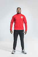 **EXCLUSIVE**Portrait of Brazilian soccer player Mario Swrgio Santos Costa, commonly known as Marinho, of Changchun Yatai F.C. for the 2018 Chinese Football Association Super League, in Wuhan city, central China's Hubei province, 22 February 2018.