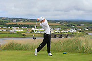Cathal Butler (Kinsale) on the 9th tee during Matchplay Round 1 of the South of Ireland Amateur Open Championship at LaHinch Golf Club on Friday 22nd July 2016.<br /> Picture:  Golffile | Thos Caffrey<br /> <br /> All photos usage must carry mandatory copyright credit   (© Golffile | Thos Caffrey)