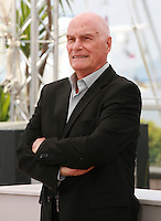 Director Barbet Schroeder at the Amnesia film photo call at the 68th Cannes Film Festival Tuesday May 19th 2015, Cannes, France.