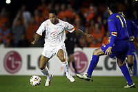 Fotball<br /> VM-kvalifisering<br /> Andorra v Nederland<br /> 17. november 2004<br /> Foto: Digitalsport<br /> NORWAY ONLY<br /> denny landzaat