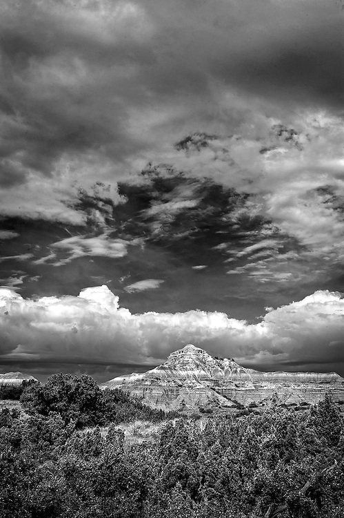 Captiol Peak at Palo Duro Canyon State Park, Texas