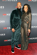 December 17, 2017-New York, NY-United States: (L-R) Recording Artist/Actor Common and Attorney/Political Commentor Angela Rye attend the 11th Annual CNN Heroes All-Star Tribute held at the American Museum of Natural History on December 18, 2017 in New York City. The All-Star Tribute ceremony honors everyday people changing the world. Terrence Jennings/terrencejennings.com