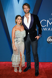 Thomas Rhett at the 51st Annual Country Music Association Awards hosted by Carrie Underwood and Brad Paisley and held at the Bridgestone Arena on November 8, 2017 in Nashville, TN. © Curtis Hilbun / AFF-USA.com. 08 Nov 2017 Pictured: Maren Morris and Ryan Hurd. Photo credit: MEGA TheMegaAgency.com +1 888 505 6342