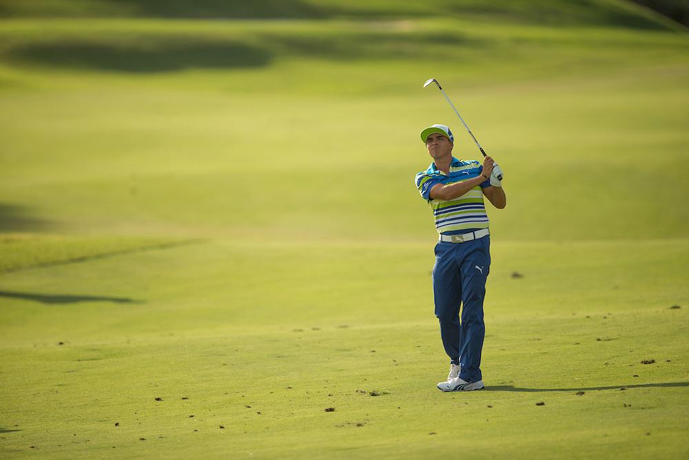 Rickie Fowler. PGA Golf: 2014 The Players Championship<br /> Thursday round 1<br /> TPC Sawgrass/Ponte Vedra, FL<br /> 5/8/2014<br /> X158187 TK1<br /> Credit: Darren Carroll