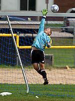Varsity Soccer Gilford v Belmont September 24, 2011.