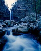 Cedar Falls and Cedar Creek, Petit Jean State Park, Arkansas.