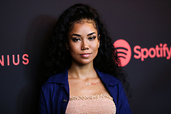 LOS ANGELES, CA, USA - NOVEMBER 16: Spotify's Secret Genius Awards 2018 held at The Theatre at Ace Hotel on November 16, 2018 in Los Angeles, California, United States. 16 Nov 2018 Pictured: Jhene Aiko. Photo credit: Xavier Collin/Image Press Agency/MEGA TheMegaAgency.com +1 888 505 6342