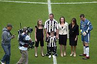 Photo: Andrew Unwin.<br /> Newcastle United v Glasgow Celtic. Alan Shearer Testimonial. 11/05/2006.<br /> Newcastle's Alan Shearer (C).