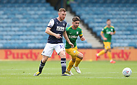 Millwall's Alex Pearce and Preston North End's Sean Maguire<br /> <br /> Photographer Rob Newell/CameraSport<br /> <br /> The EFL Sky Bet Championship - Millwall v Preston North End - Saturday 3rd August 2019 - The Den - London<br /> <br /> World Copyright © 2019 CameraSport. All rights reserved. 43 Linden Ave. Countesthorpe. Leicester. England. LE8 5PG - Tel: +44 (0) 116 277 4147 - admin@camerasport.com - www.camerasport.com