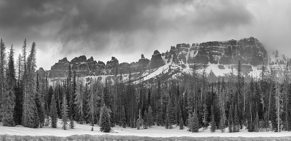 Pinnacle Buttes, Shoshone Wilderness. Wyoming.