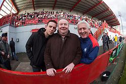 Fans..Hamilton 1 v 2 Falkirk, Scottish Cup quarter-final, Saturday, 2nd March 2013..©Michael Schofield.