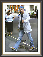 Liam Neeson Charlotte st London 2005<br />