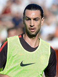 July 19, 2018 - Rome, Italy - Javier Pastore during training session open to the fans of A.S. Roma,  pre-season retreat at Stadio Tre Fontane on july 19, 2018 in Rome, Italy. (Credit Image: © Silvia Lore/NurPhoto via ZUMA Press)