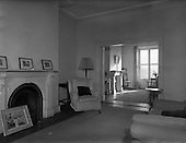 1958 Interior of House at Mespil Road