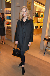 PRISCILLA WATERS at a Valentine's Ladies breakfast hosted by Tod's and Carolina Bonfiglio at the Tod's boutique in New Bond Street, London on 10th February 2015.
