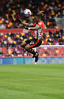Football - 2020 / 2021 Sky Bet Championship - Semi-final play-offs - Second leg - Brentford vs AFC Bournemouth - Brentford Community Stadium<br /> <br /> Ivan Toney of Brentford in action during this afternoon's game.<br /> <br /> COLORSPORT/ASHLEY WESTERN